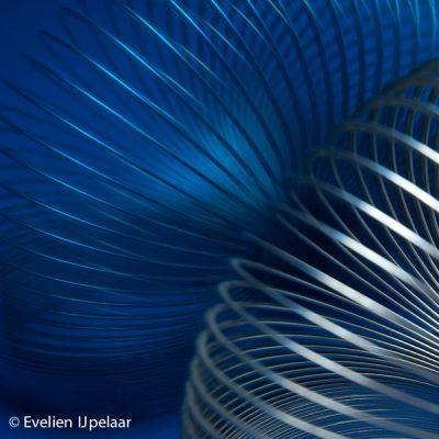 'Spiraal blauw'